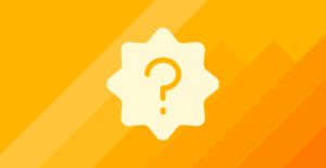 Image for what is an employee experience Platform article -- question mark on yellow background
