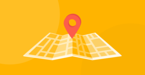 Image for A Roadmap for Reducing Unconscious Bias in the Workplace -- map on yellow background