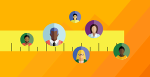 Article image for How to Measure the Success of Your DE&I program -- people icons on a yellow ruler